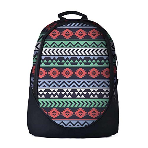 The Souled Store Tribal Pattern Cool Graphic Backpack for Men and Women a5fa35802a