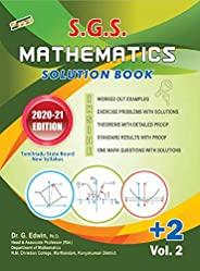 SGS Standard 12th Mathematics Solution Book (Vol-II)