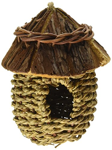 Prevue Pet Products BPV1171 Holz Dach Klein Bird Nest (Pet-träger Klein)