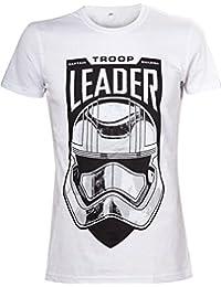 Star Wars Herren T-Shirt the Force Awakens Adult Male Troop Leader Stormtrooper