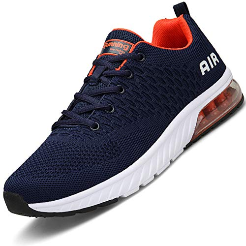 81f4a8429f Men Women Running Shoes Air Cushion Sports Trainers Shock Absorbing  Sneakers for Walking Gym Jogging Fitness