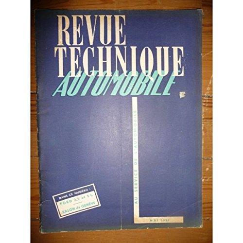 Rta-revue Techniques Automobiles - 5T 3,5T V8 Revue Technique PL Ford