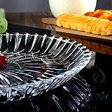 Best Peanuts Cake Pans - NGNSDEU GNIGFNEW KTVHotel glass tea tray fruit Glass Review