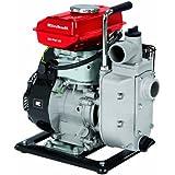 Einhell  Pompe d'arrosage thermique GH-PW 18 (1.8 kW, Débit max. 12.000 l/h, Hauteur de refoulement 20 m, Livré avec 2 adaptateurs pour tuyau 38,1 mm, 1 panier d'aspiration et 2 réducteurs 33,3 mm (filetage mâle))