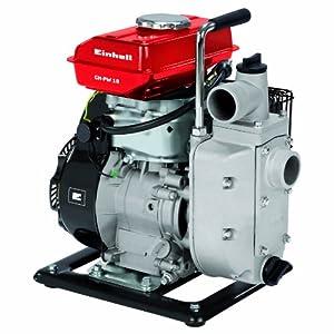 Einhell GE-PW 45 – Motobomba de Gasolina (máx. Altura de succión 6.5 m, Conector de succión 59,6 mm – 2″, Conector de presión 59,6 mm – 2″, Peso 23 kg)
