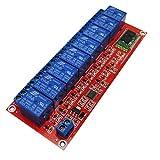 MagiDeal 4/8-Kanäle Relais Modul Brett Relaismodul Für Arduino Relay Module - 24v 8 Kanal Bluetooth Handy Fernbedienung
