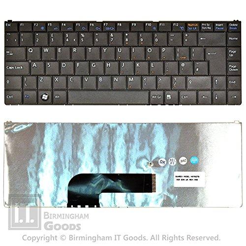 Brand New Sony Vaio VGN-N VGN-N11H VGN-N21M VGN-N350N Laptop Keyboard UK V070279