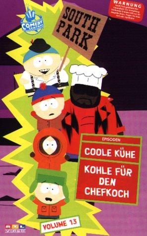 Preisvergleich Produktbild South Park 13: Coole Kühe / Kohle für den Chefkoch [VHS]