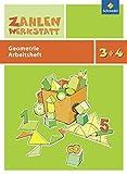 Zahlenwerkstatt: Geometrie: Arbeitsheft 3/4