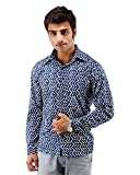 Albelishop Men's Button Front Shirt (FI0...