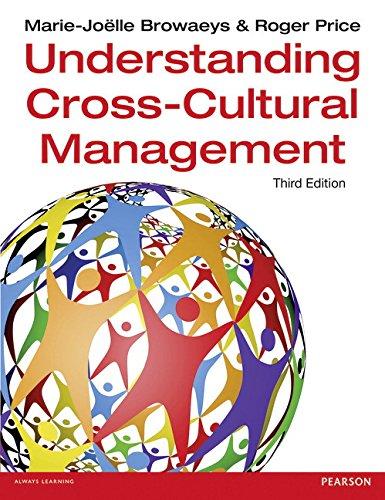 Understanding Cross-Cultural Management 3rd edn