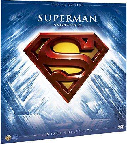 Superman I-Iv Colección Vintage Funda Vinilo [DVD]