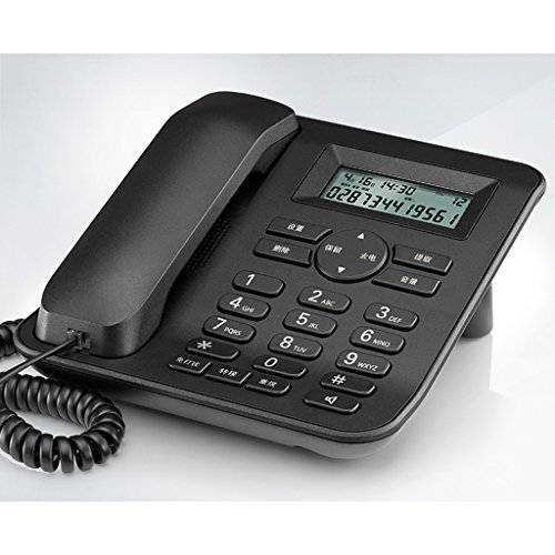 Liuyu · Lebendes Haus Telefon Household Office Festnetz Corded Nicht stören ( Farbe : Schwarz ) (Mobilteile 3 Telefon-sets,)