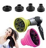 Takestop - Difusor universal plegable de viaje para secador de pelo, de silicona