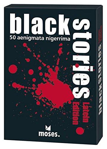 Moses108313 - Set di carte con indovinelli macabri 'Black Stories', edizione in...