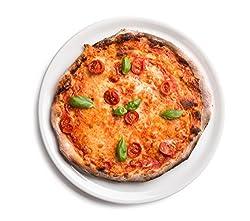 6 x Ø 31 cm Pizzateller / Starterteller / Riesenteller / Universalteller / Buffetplatte | Höhe 1,8 cm