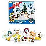 LD Weihnachten Deko Spinmaster Paw Patrol Jungen Adventskalender Weihnachtskalender mit Spielzeug (Lieferzeit ist 3-7 Tagen)