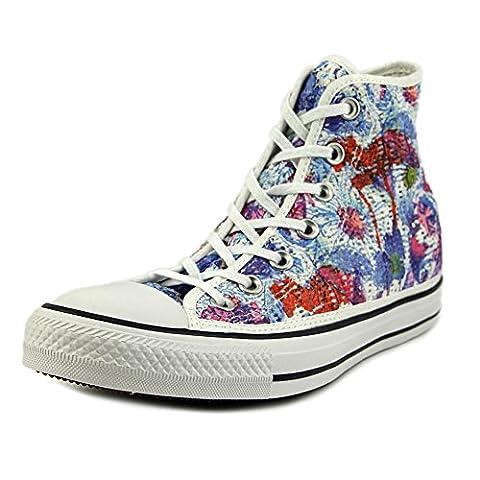 Converse Fleur - Converse 552763c, Chuck Taylor All Star montantes