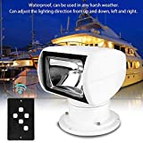 Marine Suchscheinwerfer Licht, 12V 100W Outdoor Remote Lampe für Boot LKW Auto