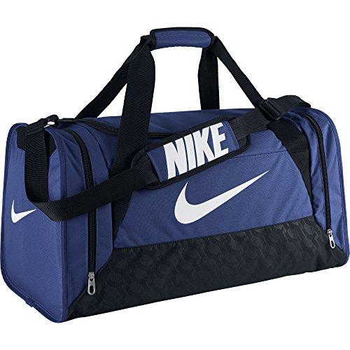 Nike Sporttasche Brasilia 6 Medium Duffel, dunkelblau, 62 x 33 x 33 cm, 68 Liter, BA4829-455