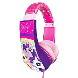 My Little Pony Kid Safe Over the Ear Headphone w/ Volume Limiter (30357)