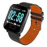 Fitness Tracker Orologio Smartwatch Cardiofrequenzimetro da Polso Donna Uomo...