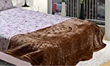 AmazingHind Double Bed Camel color Mink ...