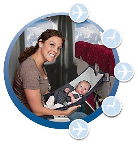 Infant Flugzeug Sitz - Flyebaby Flugzeug Baby Komfort System - Air Travel mit Baby Made Easy (System Baby-baby Travel)