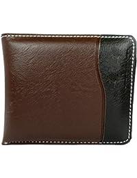 Apki Needs Mens Wallet Stylish, Fashionable, Brown & Black Wallet