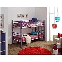 Litera forja mod.410 Convertible en 2 camas de 90x190cms.