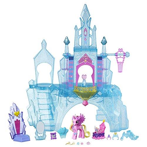 Hasbro My Little Pony B5255EU7 - Kristall-Königreich, Spielset (Babys Pony Little My)