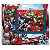 Marvel Set Orologio da Polso e Portafogli Avengers