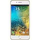 I KALL K1 5 Inch Display (1+8GB) 4G Volte Smart Phone- Champagne