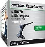 Rameder Komplettsatz, Dachträger SquareBar für Rover Mini Schrägheck (115963-00167-17)