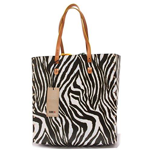 0603T borsa donna SIDE+ TOTEBAG ZEBRA ecofriendly hand bag woman Multicolore
