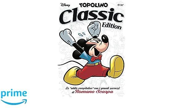 Amazon Topolino White Classic Edition Scarpa it Romano r5axnrU