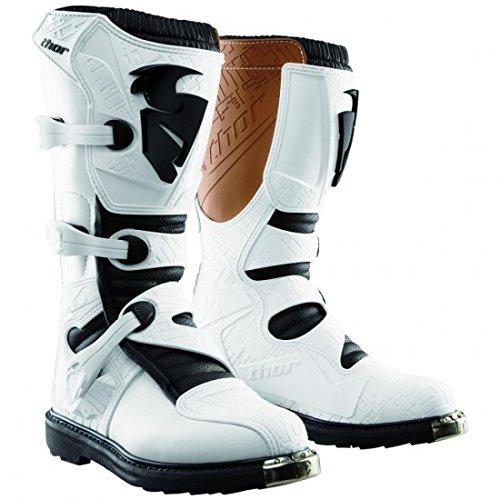 Blitz s4 offroad boots white 14 - 3410-1064 - Thor 34101064