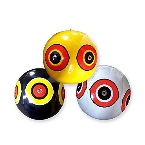 Aspectek Ojos de Buho para espantar aves. Inflable