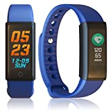 inDigi Ftbracelet-X6S-Bu-So06 X 6S Fitness Tracking Smartwatch Band with Heart Rate Monitor, Blood