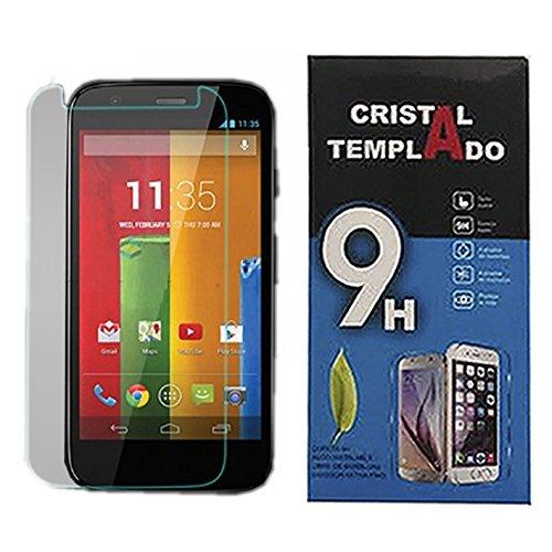 Fologar Protector de Pantalla Cristal Templado para Motorola Moto G XT1031 XT1032