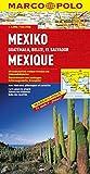 MARCO POLO Kontinentalkarte Mexiko, Guatemala, Belize, El Salvador 1:2,5 Mio. (MARCO POLO Kontinental /Länderkarten) - Polo Marco