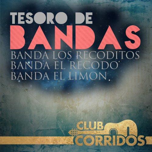 Club Corridos: Tesoro de Bandas - Banda el Recodo, Banda los Recoditos, Banda el Limon (Banda El Recodo Corridos)