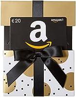 Carte cadeau Amazon.fr - €20 - Dans un étui de Noël Doré