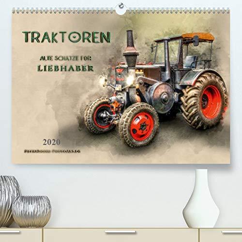 Traktoren - alte Schätze für Liebhaber(Premium, hochwertiger DIN A2 Wandkalender 2020, Kunstdruck in Hochglanz): Nostalgische Traktoren - geliebte ... 14 Seiten ) (CALVENDO Technologie)