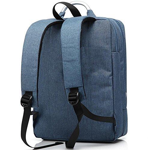 Zaino del computer sacchetto zaino Oxford Uomo impermeabile e donne Vacanza pacchetto Business azure