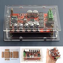 ELEGIANT TDA7492P Amplificatore Wireless Mini Bluetooth 2x50W CSR4.0 Hifi Stereo Audio Ricevitore Scheda di Amplificazione a Doppio Canale Modulo Bordo Digital Amplifier Amp con Protezione ACRL Box con il