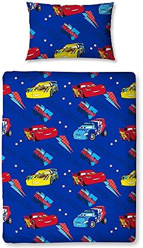 Image of Disney Cars Movie Junior / Toddler Cot Bed Size Quilt Cover Duvet Set