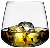#2: Pasabahce (F&D) Chique Lead-Free Crystal Whisky Glass 400 ml Set of 4 pcs