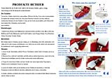 SAGUARO 7 LED Sportschuhe, High Top Sneaker - 7