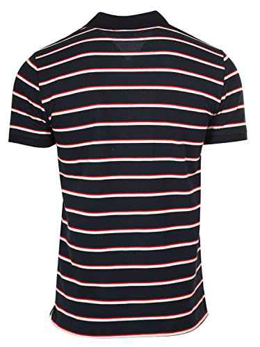 Gianfranco Ferré Polo Shirt Logo Dunkelblau/Weiß/Rot